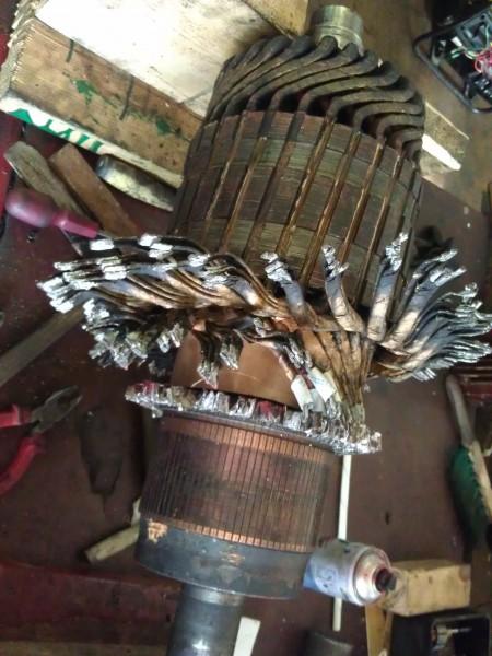 Ремонт электродвигателей постоянного тока СПб