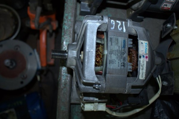 Ремонт электродвигателя стиральной машины