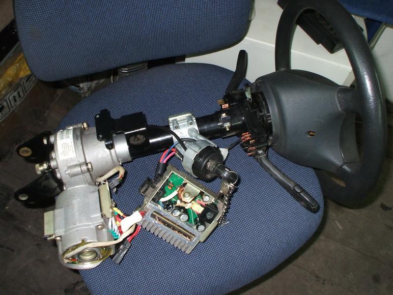 Ремонт электродвигателя электроусилителя руля