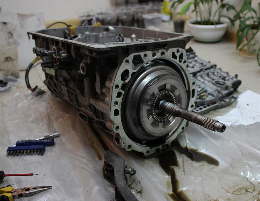 Ремонт электродвигателя насоса коробки автомат