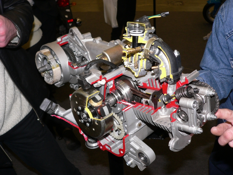 Ремонт 2 тактного двигателя скутера своими руками