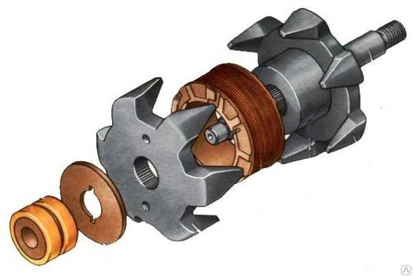Ремонт ротора генератора