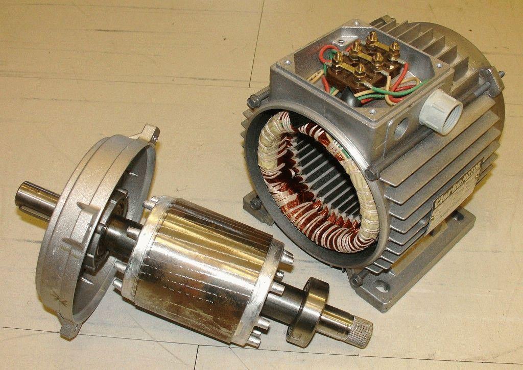 Ремонт ротора электродвигателя СПб