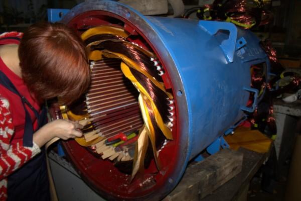 Перемотка электродвигателя в СПБ