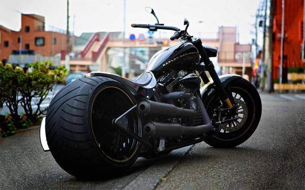Мотоцикл с генератором