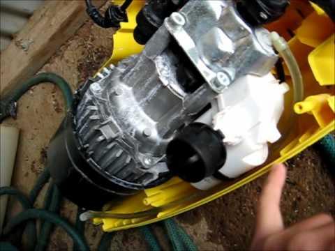Ремонт двигателя мойки Karcher