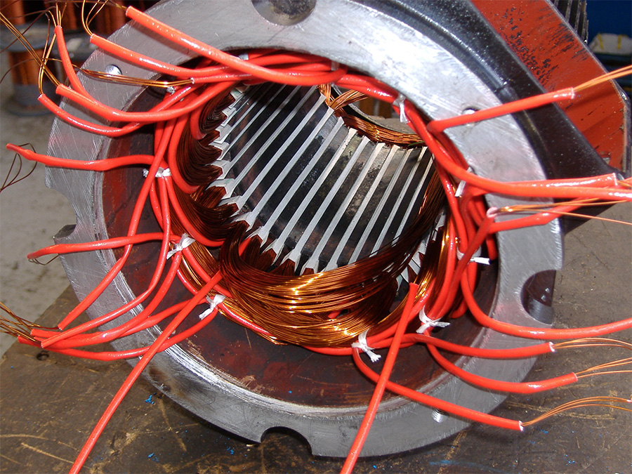 Ремонт асинхронных электродвигателей СПб