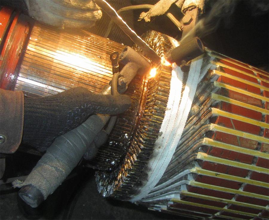 Текущий ремонт электродвигателя СПб